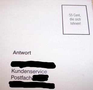 Ganz Dummes Gelapp Blog Archiv Porto Sparen Bei Antwort Briefen